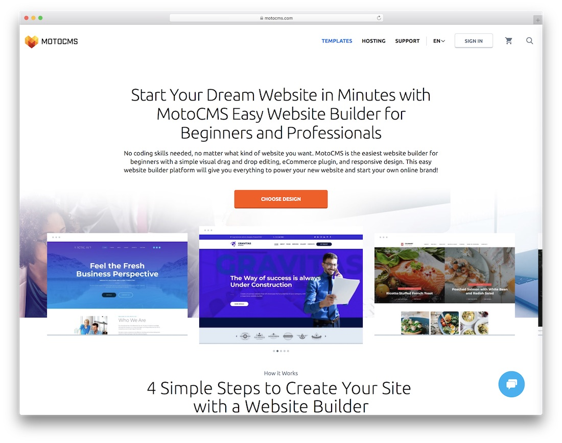 motocms ecommerce website builder