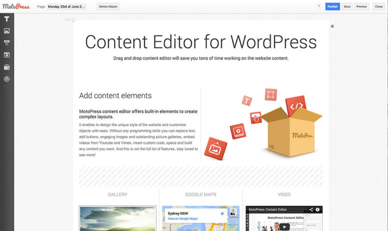 Simplify WordPress With Awesome MotoPress Content Editor – Only $9