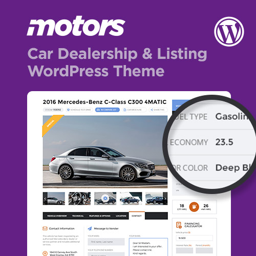 Motors theme on Colorlib