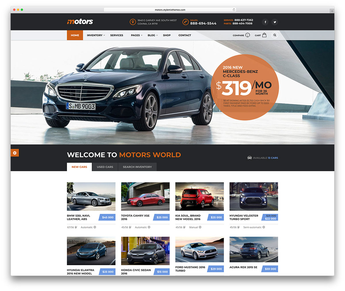 Top 32 Car / Automotive WordPress Themes 2018 - Colorlib