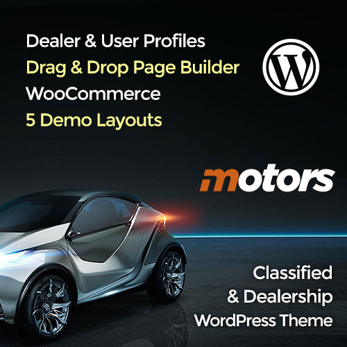 Motors Themes on Colorlib