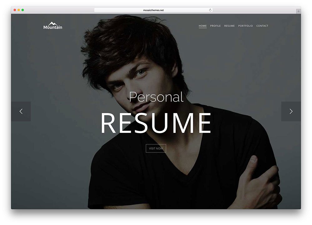 mountain-personal-resume-one-page-html-template