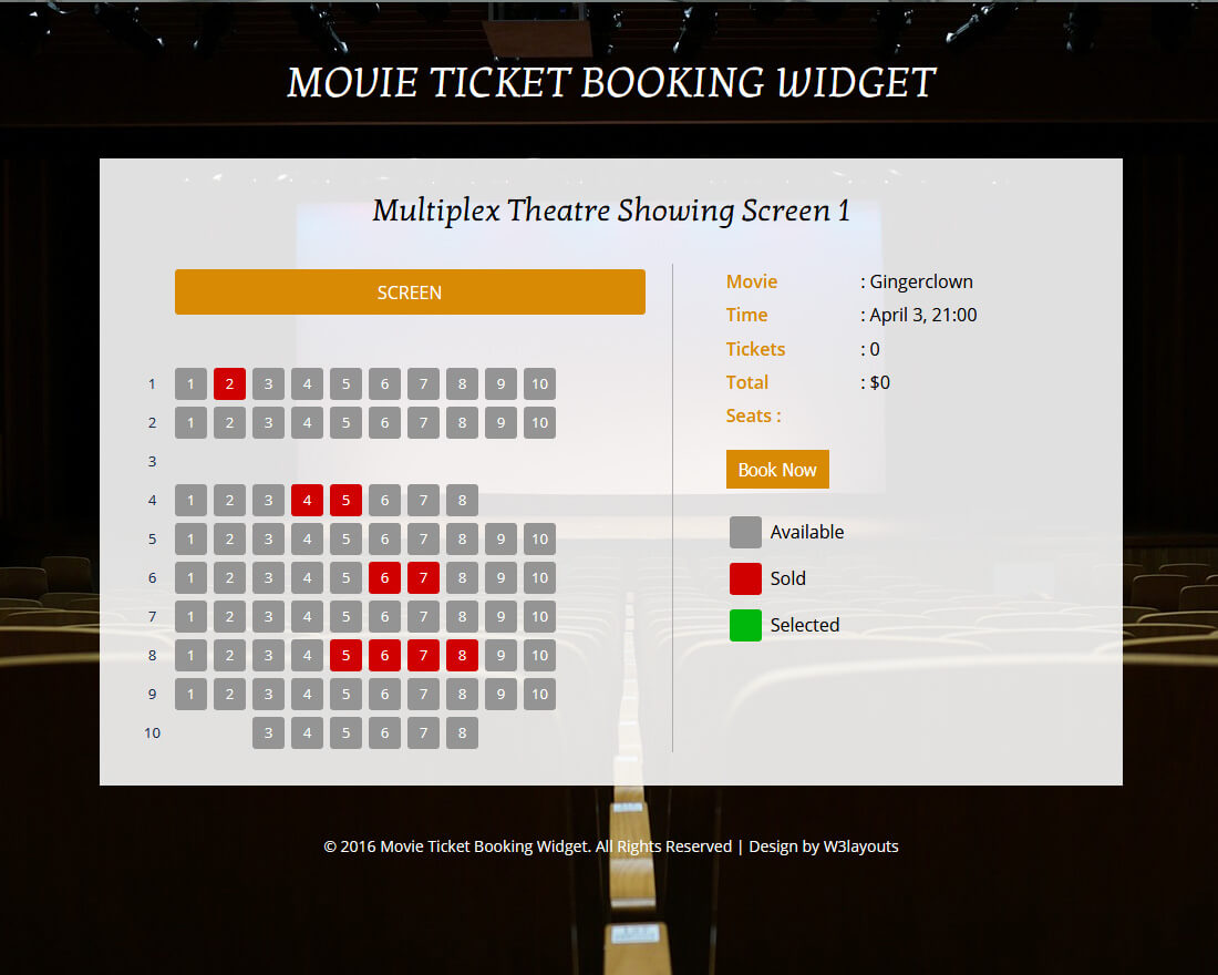 movie-ticket-booking-form