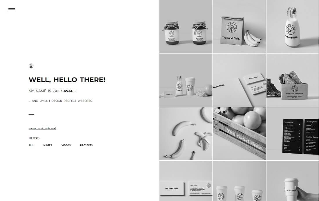 moyo artist website template