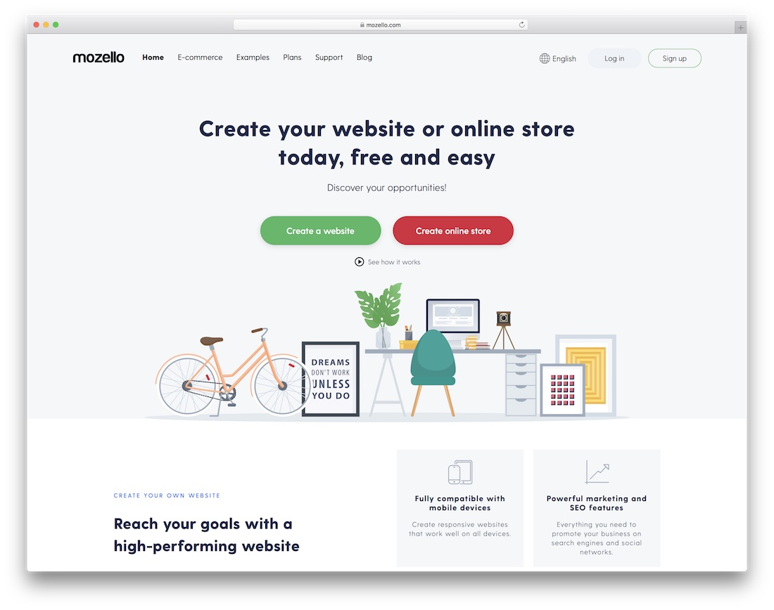 mozello small business website builder