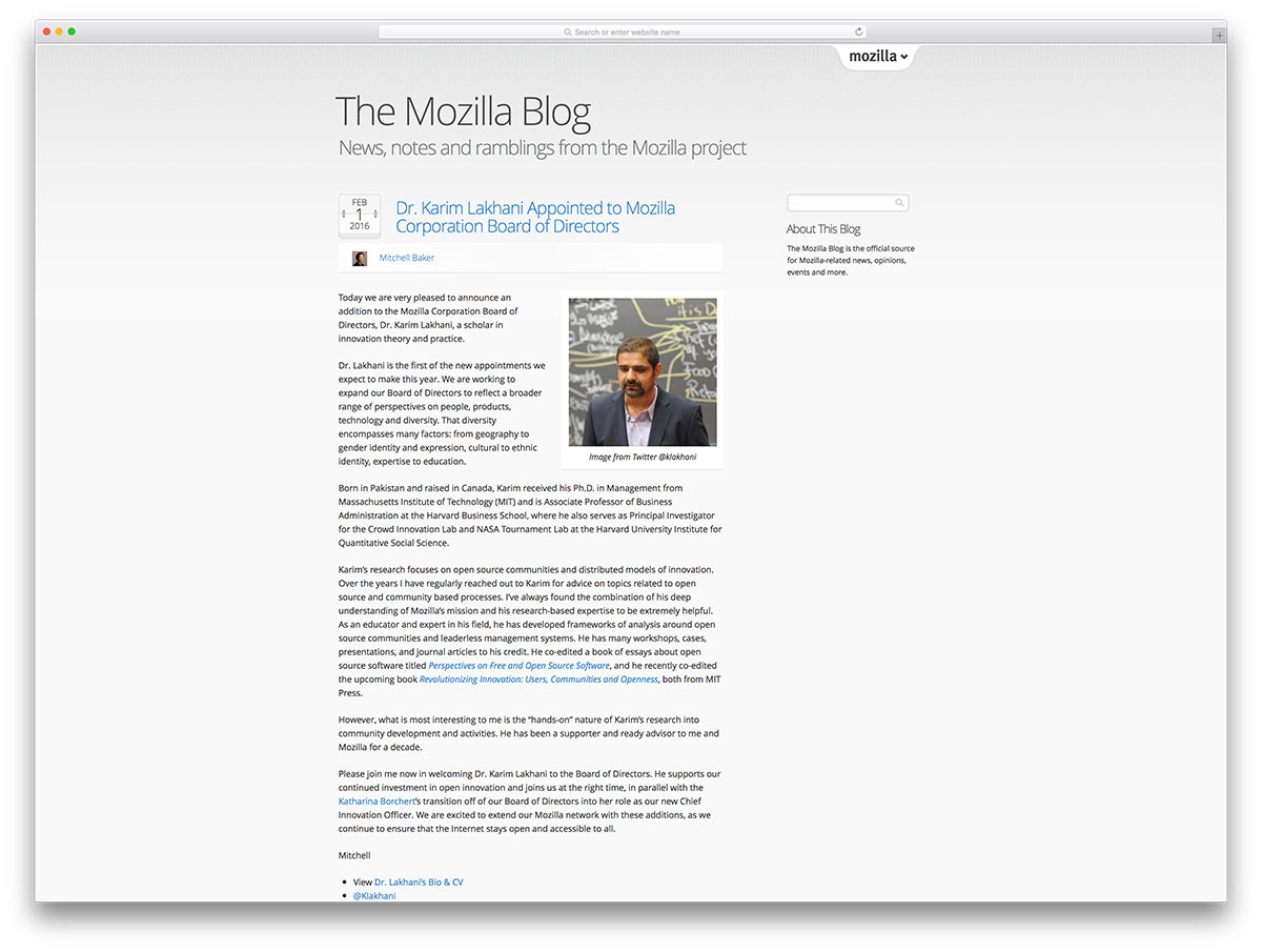 mozilla-blog-based-on-wordpress-cms