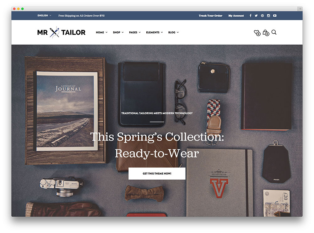 mr tailor - WooCommerce theme