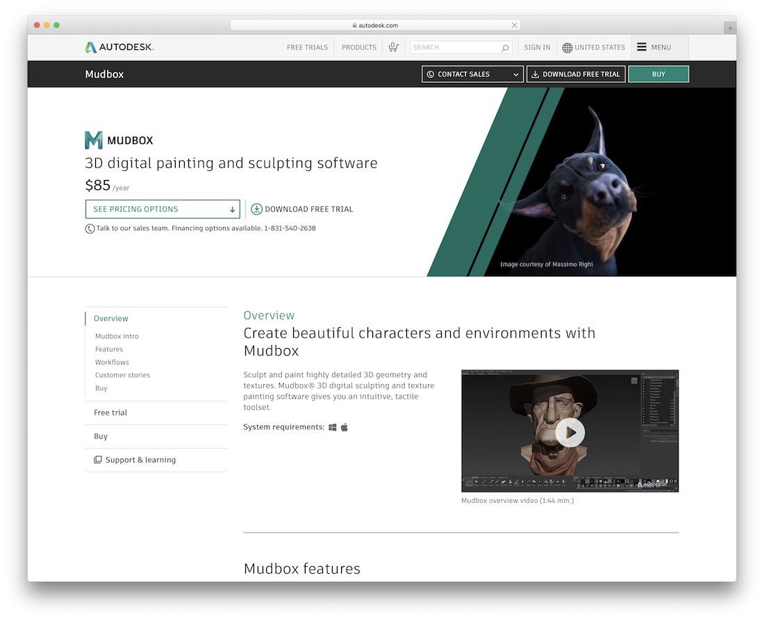 mudbox 3d editing tool