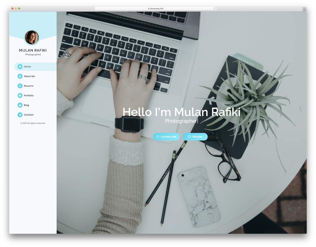 mulan cheap website template