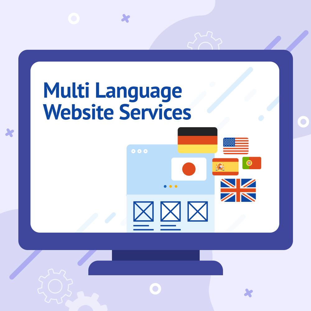 Multi Language Website Services