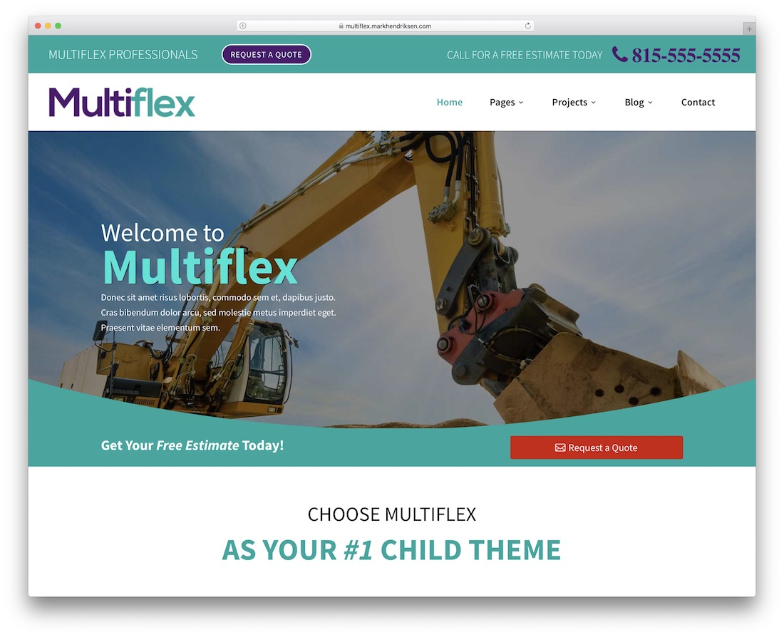 multiflex divi child theme