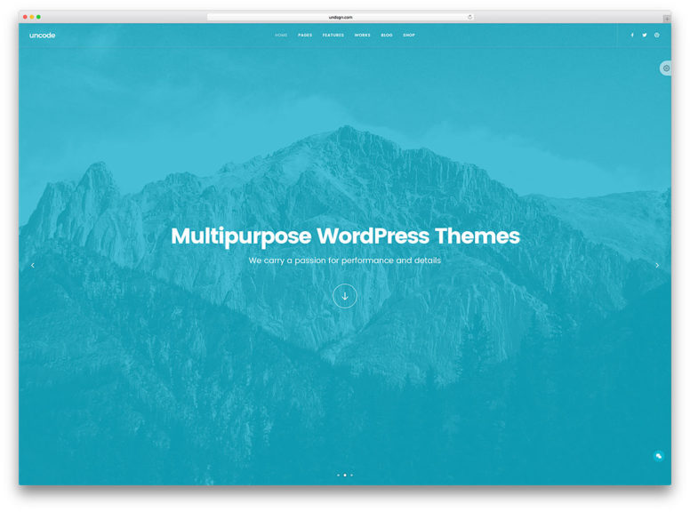 20 Most Popular Multipurpose WordPress Themes That Can Handle Everything For You 2018