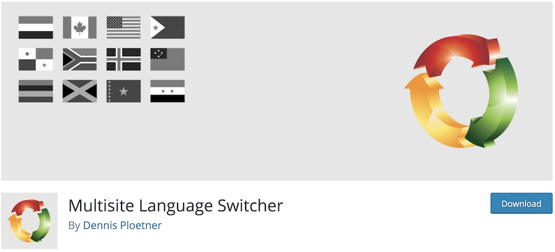 multisite language switcher plugin