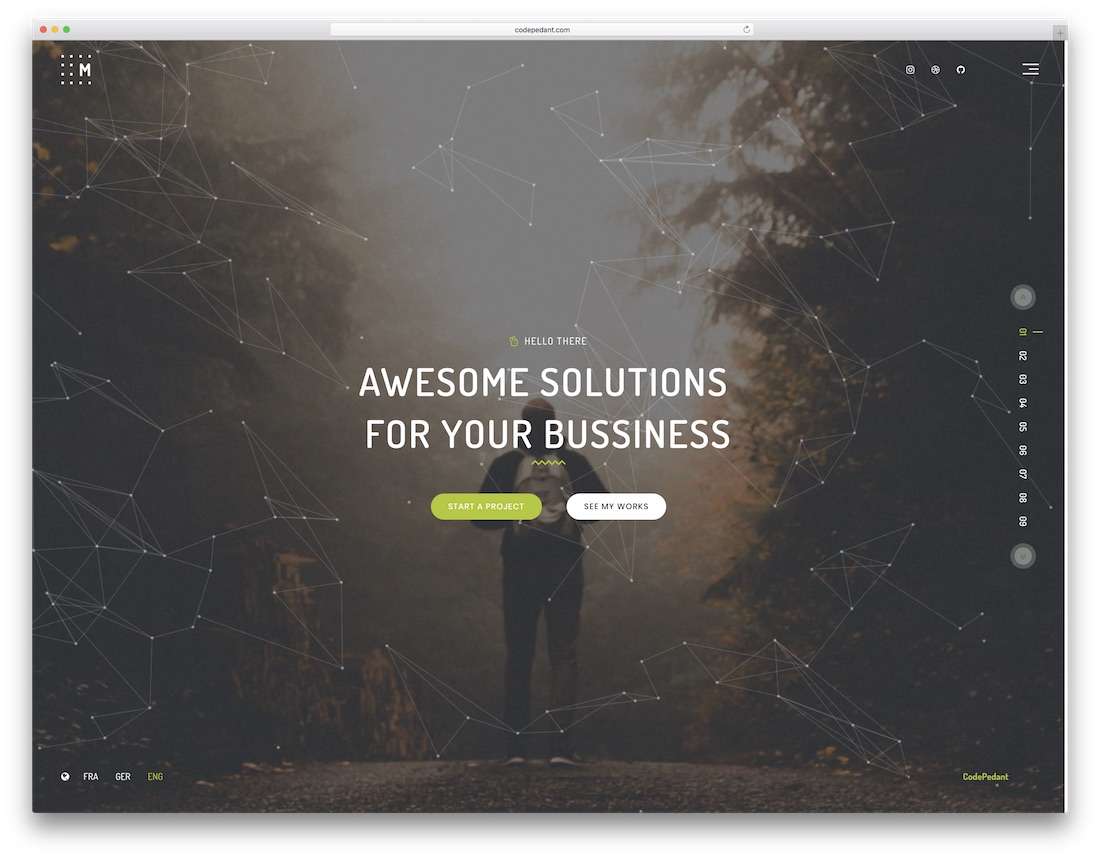 mumbrass joomla portfolio template