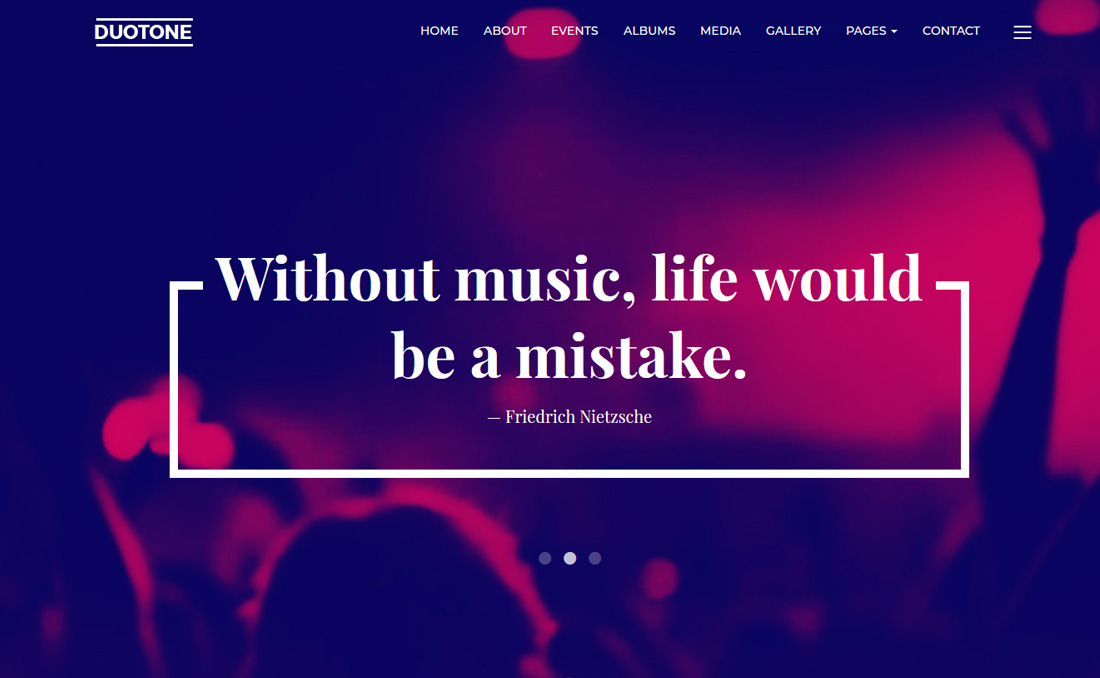 music-and-band-bootstrap-music-templates