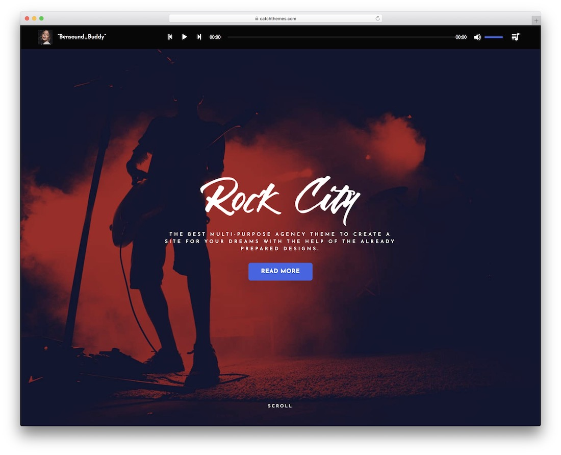 music journal free responsive wordpress theme