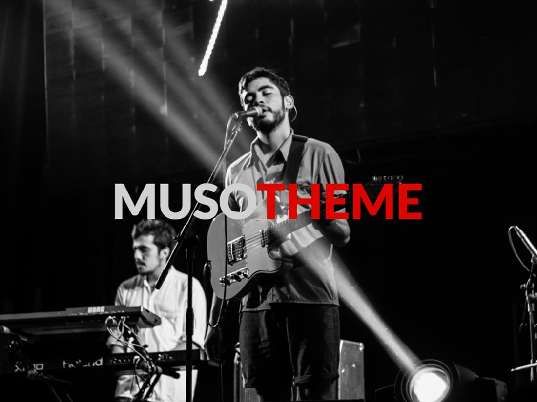 free band wordpress themes