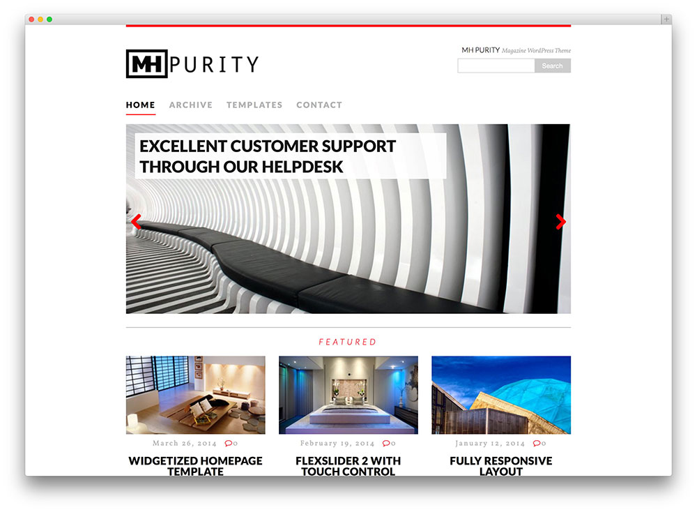mh purity magazine theme