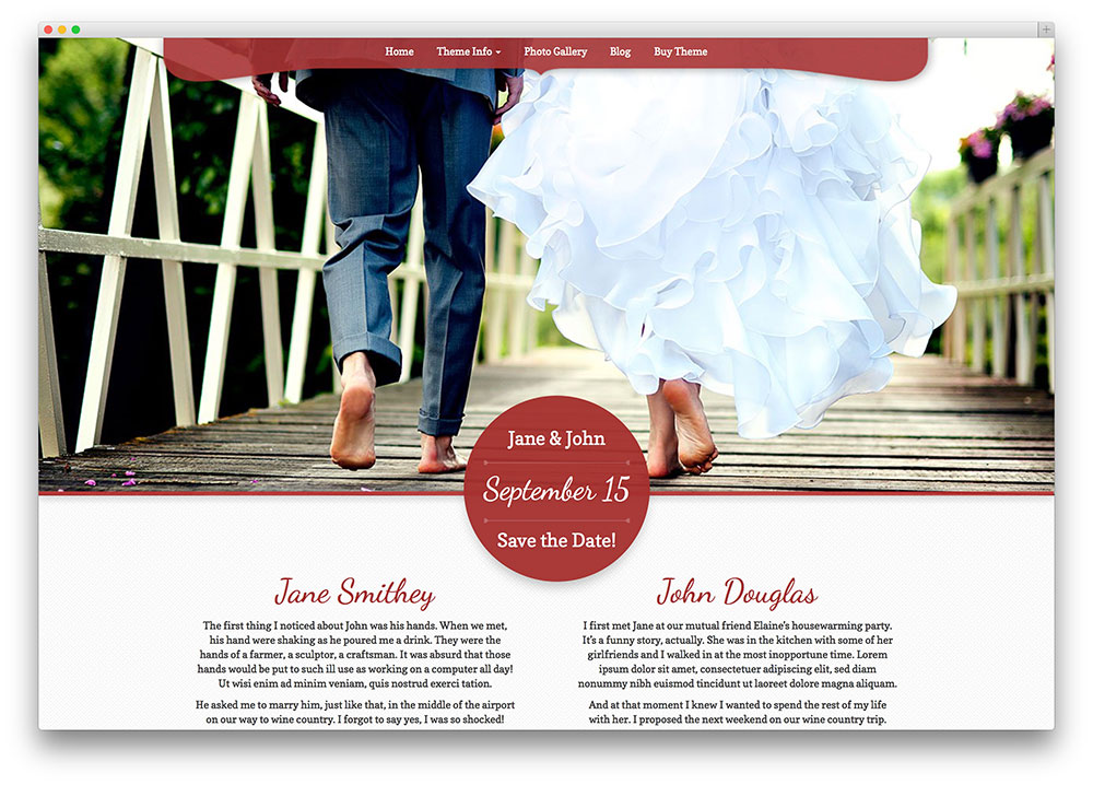 My Wedding premium wedding theme