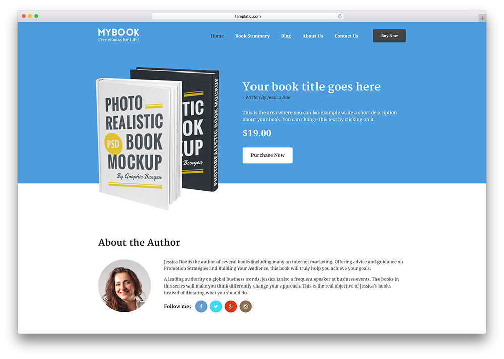 Best wordpress themes for selling ebooks and digital products 2018 mybook ebook selling wordpress theme fandeluxe Images