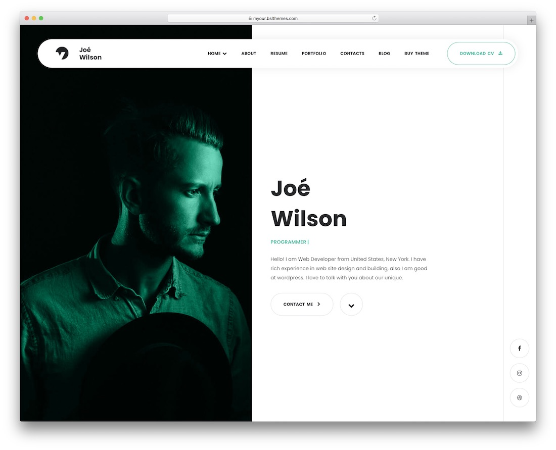 myour wordpress theme for programmers