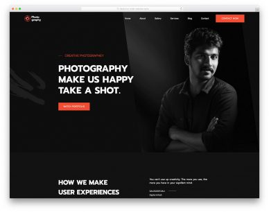 MyPhotography Free Template