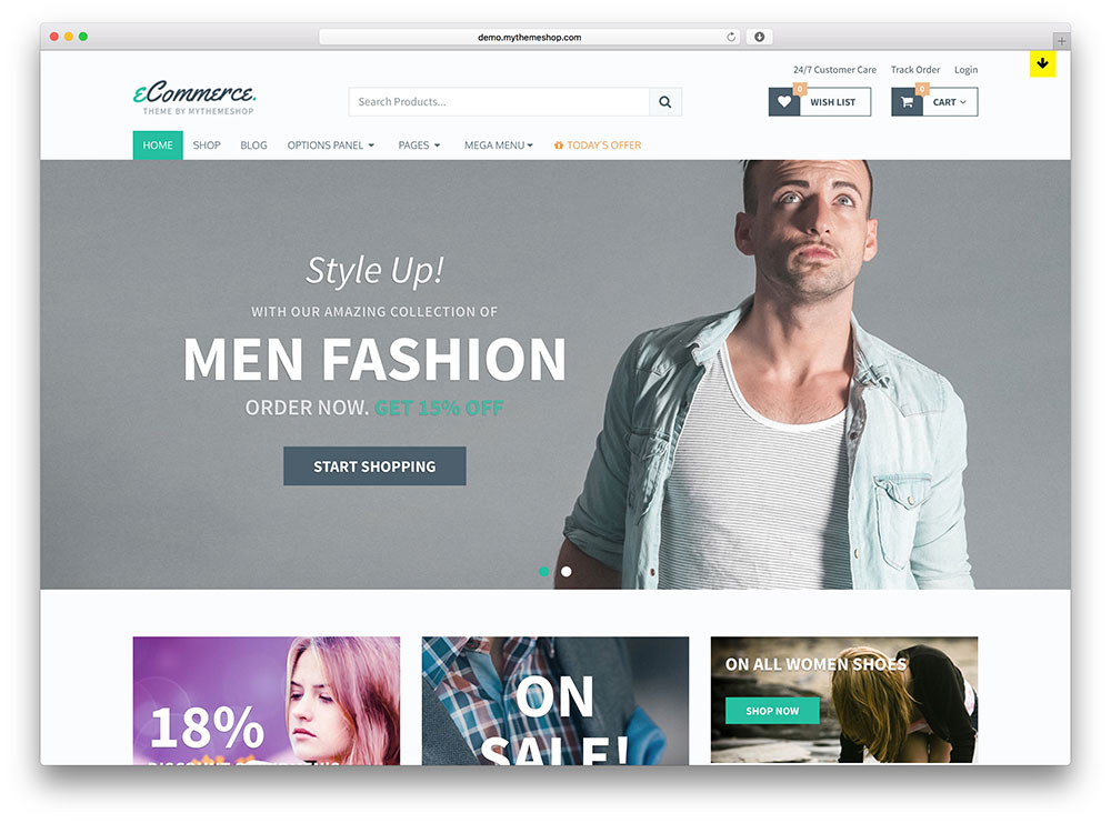 mythemeshop - simple WooCommerce theme
