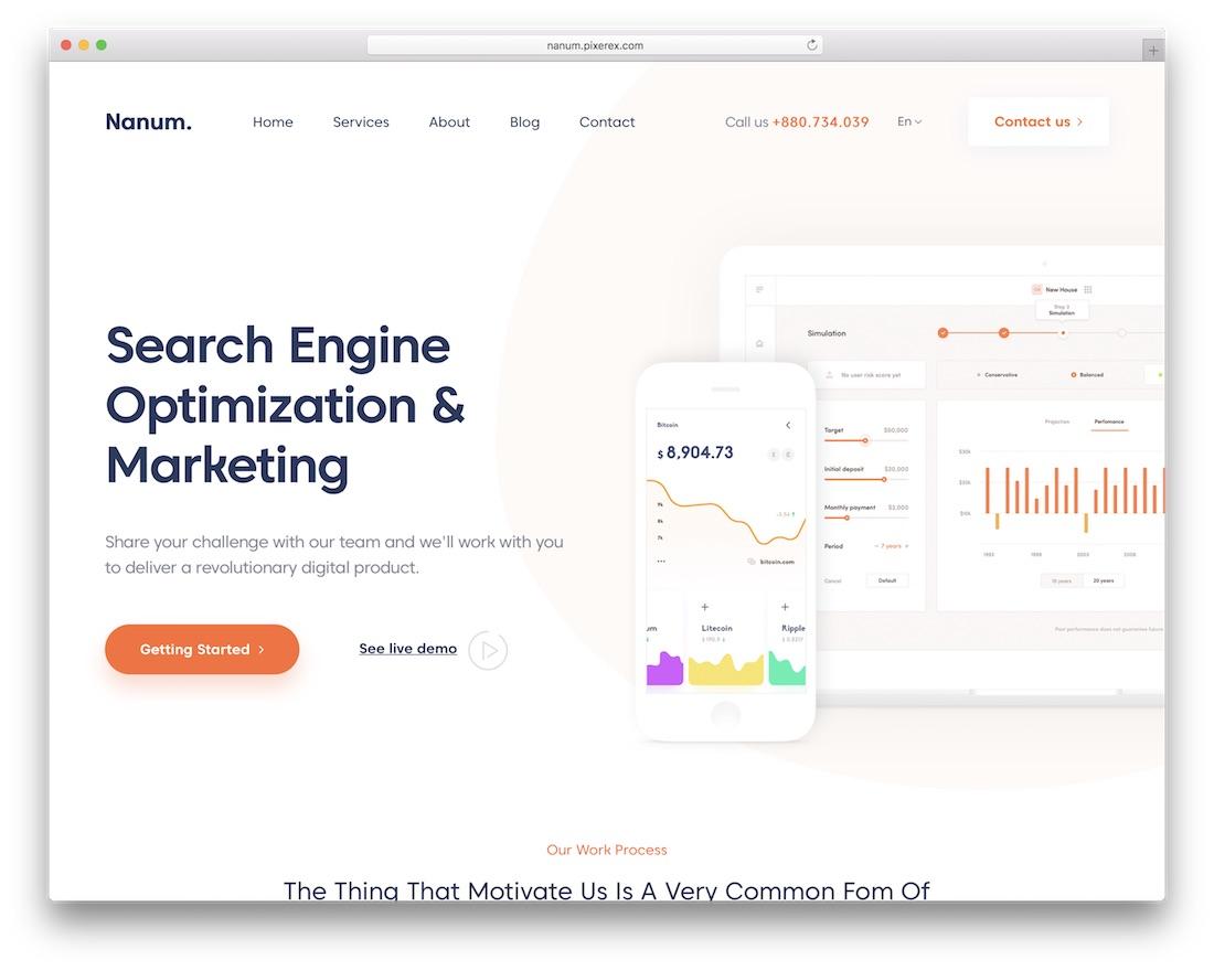 7d5576179c74 Top 40+ Creative Digital Agency WordPress Themes 2019 - Colorlib