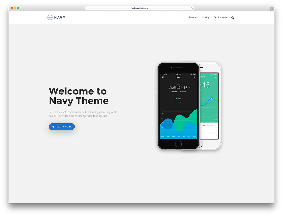 33 best app software showcase wordpress themes 2018 colorlib