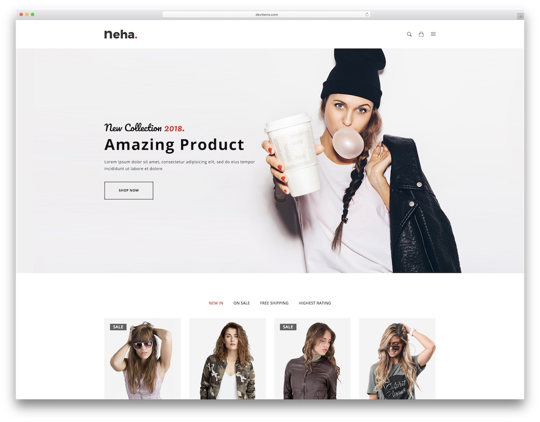 28 Top Apparel & Fashion Website Templates 2019 - Colorlib