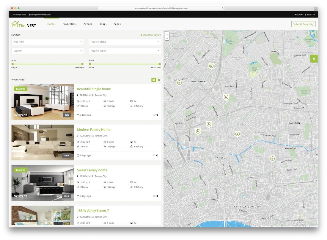 24 Top HTML5 Real Estate Website Templates 2019 - Colorlib