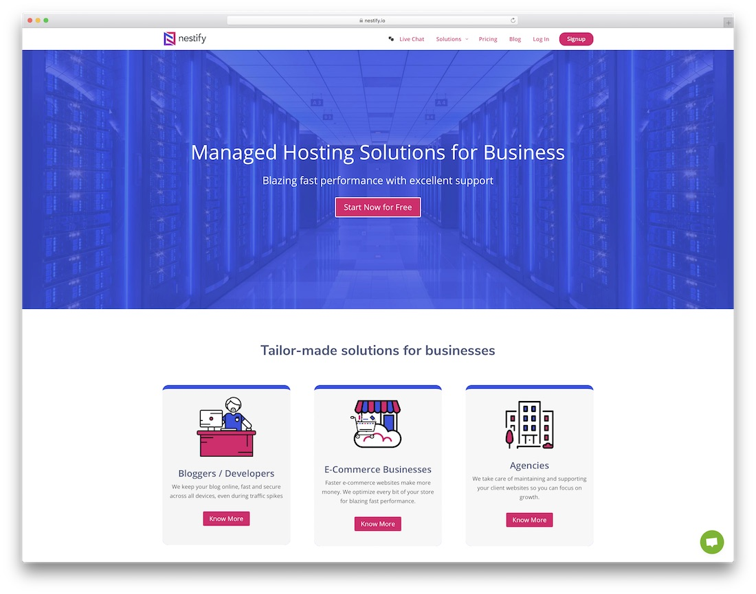 nestify woocommerce hosting