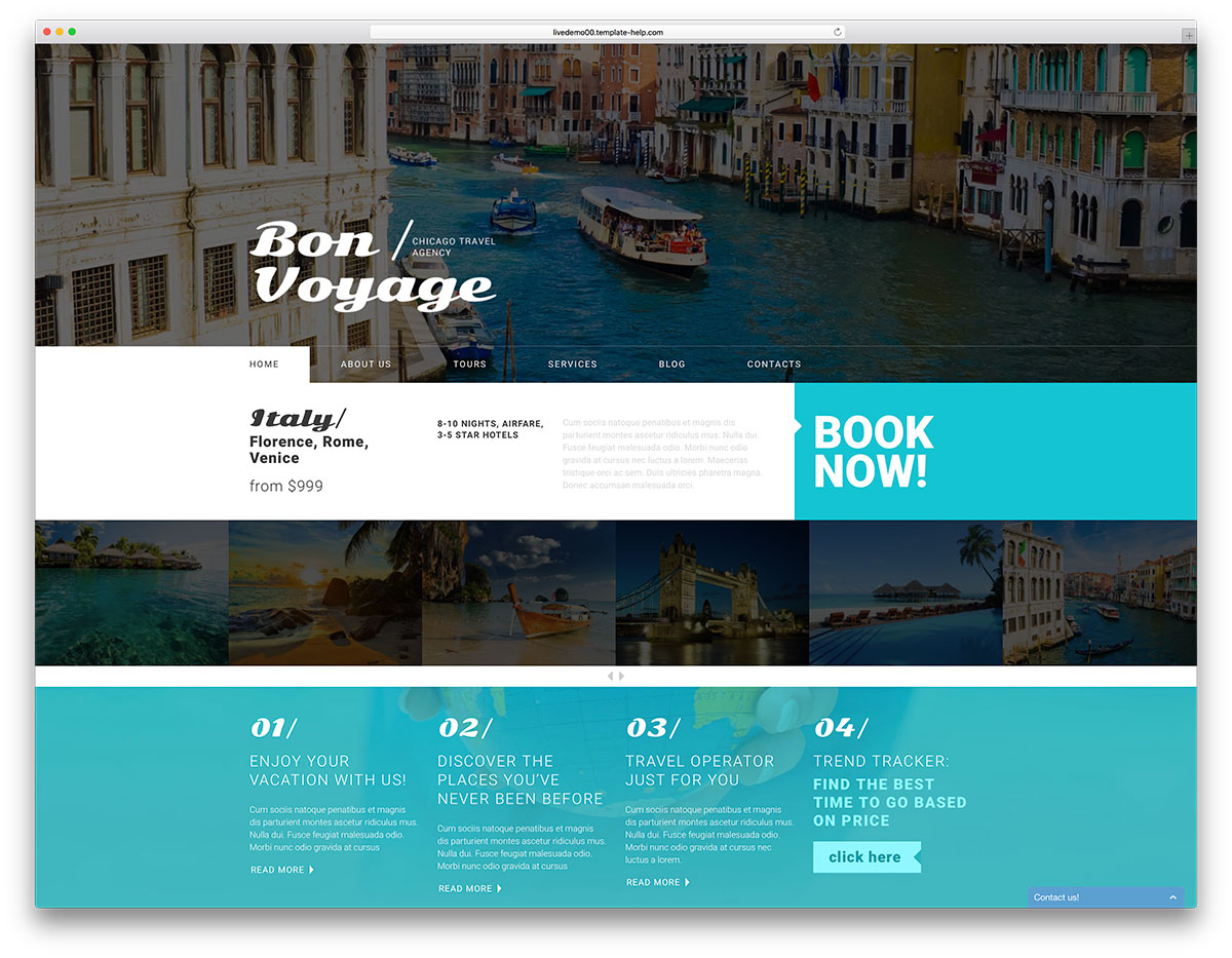 New Travelling Wordpress Themes