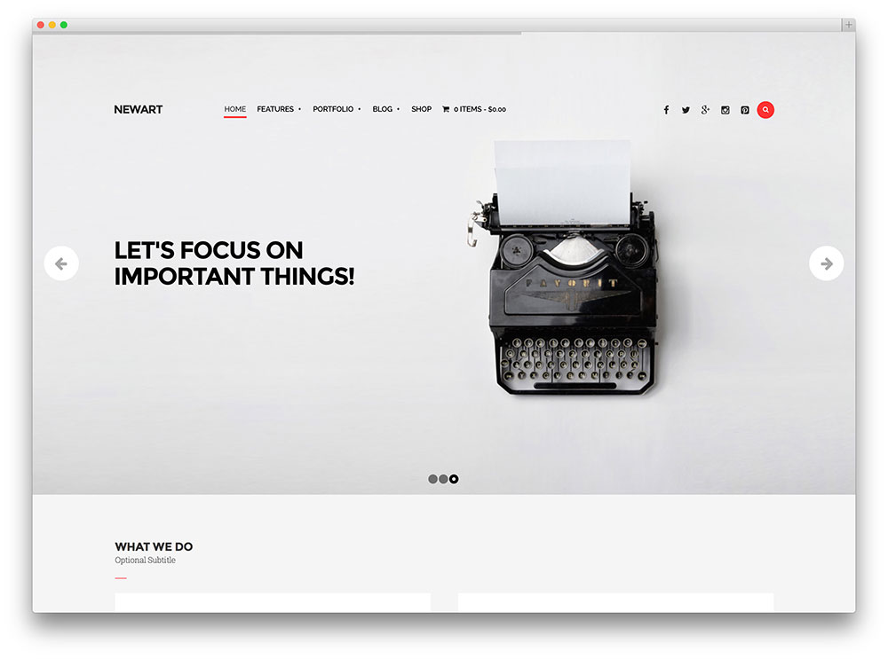 20 Brilliant WordPress Themes for Designers 2018 - colorlib