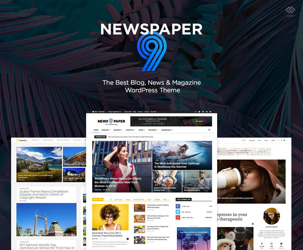40 best personal blog wordpress themes 2019 colorlib