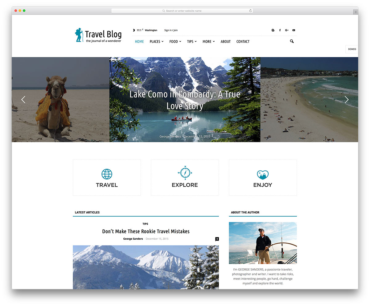newspaper-travel-blog-wordpress-website-template