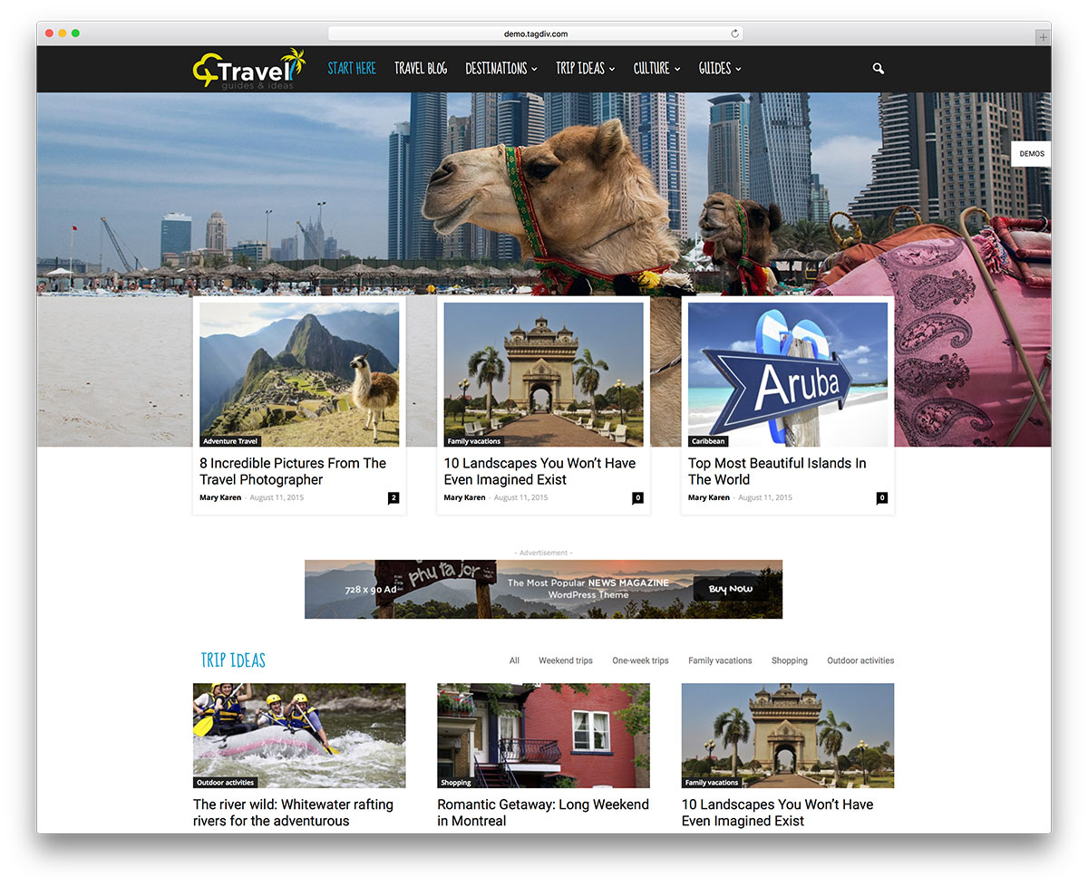 newspaper-travel-magazine-website-template
