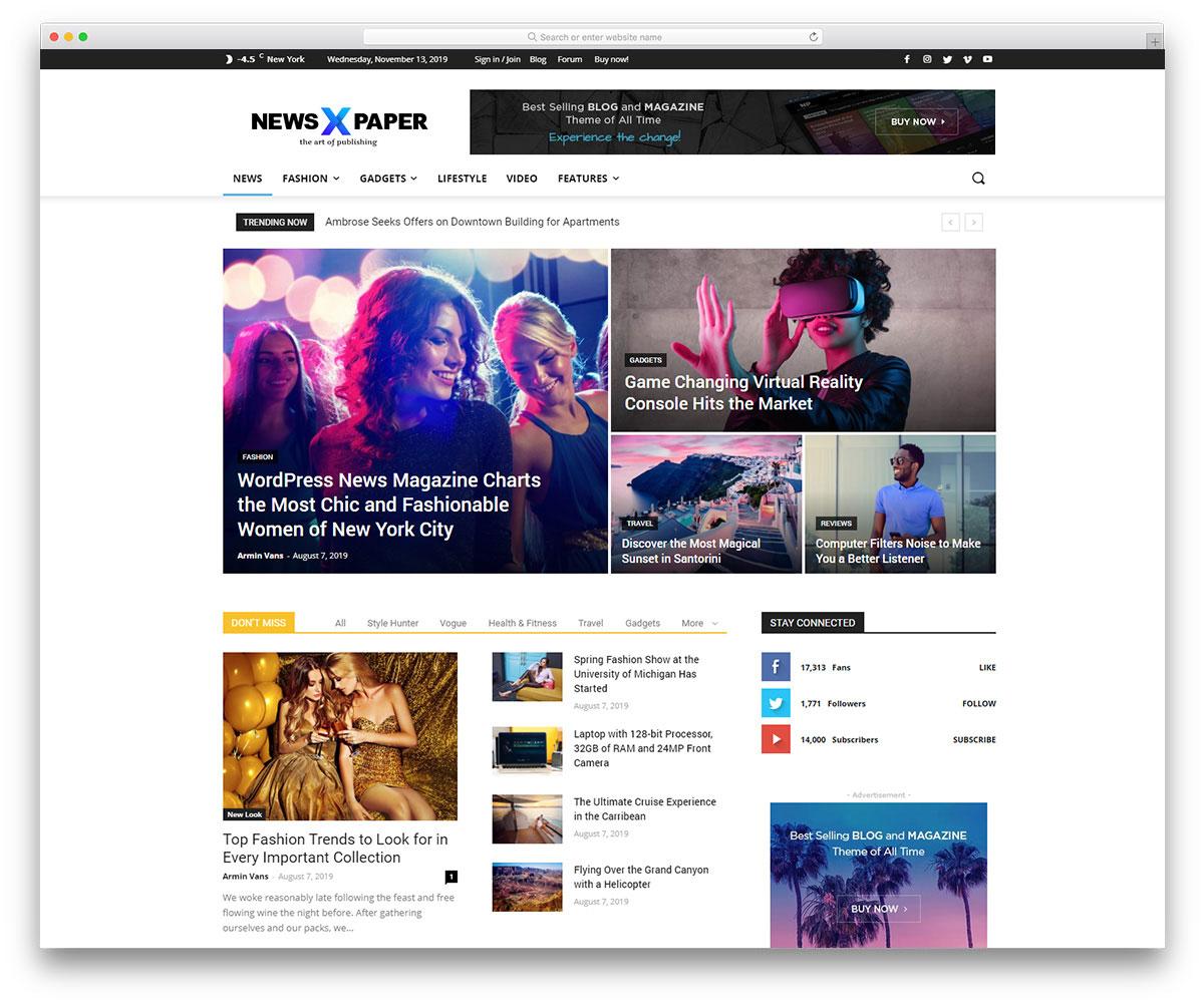 17 Best News Website Design For Inspiration 2020 Colorlib