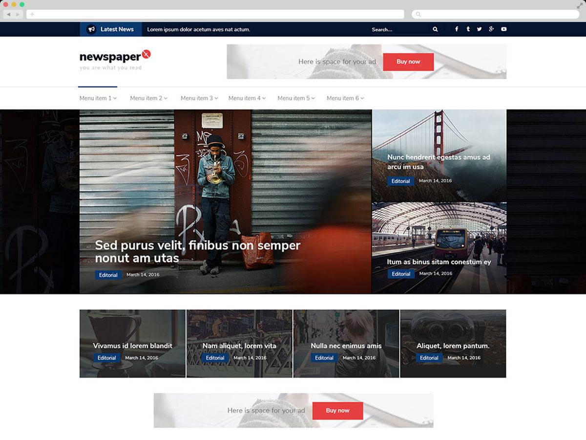 newspaperx-browserpsd