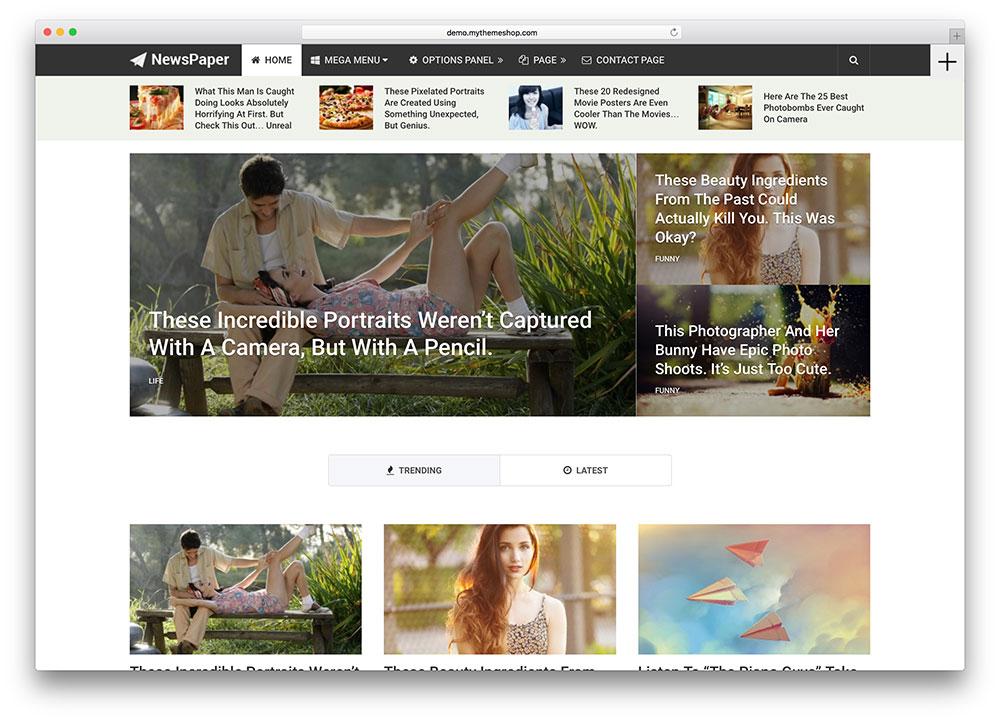 newspapper-magazine-theme