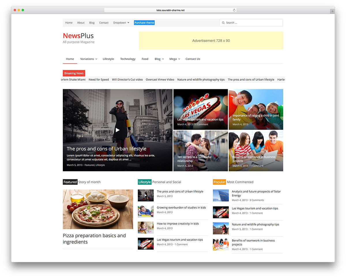 newsplus-simple-magazine-wordpress-theme