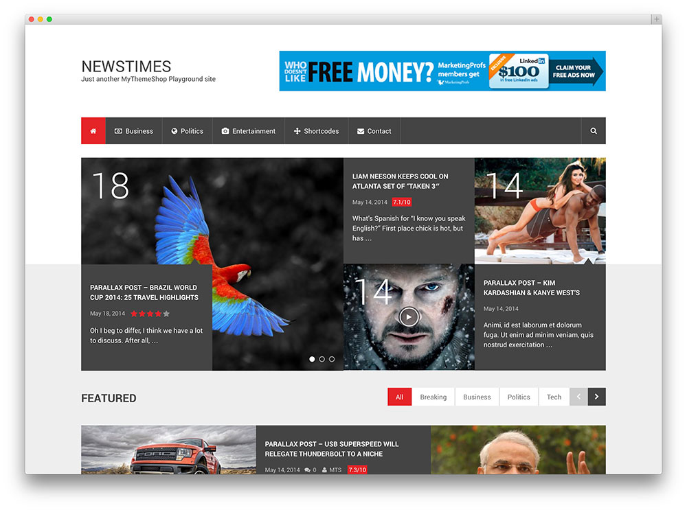 newstimes news magazine seo theme