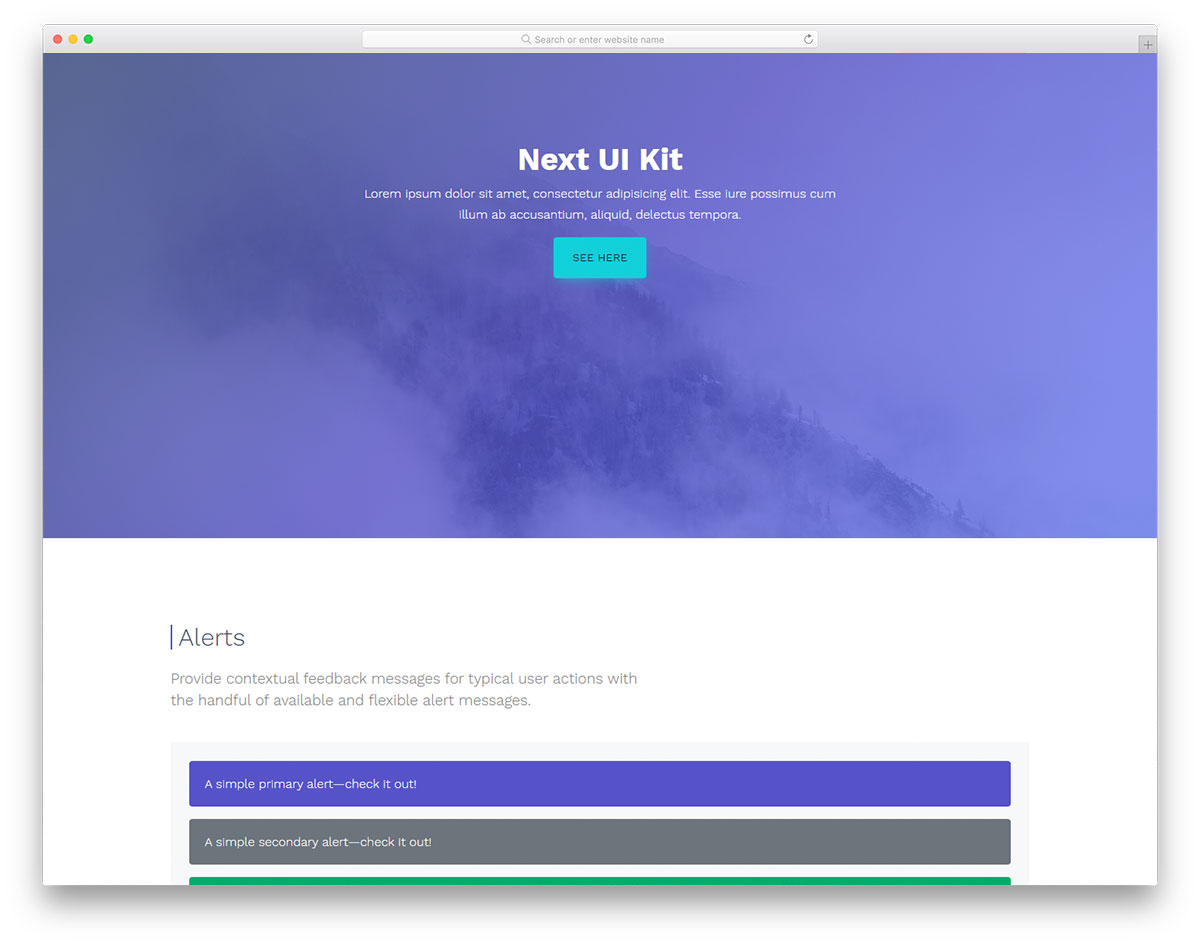 Next UI Kit