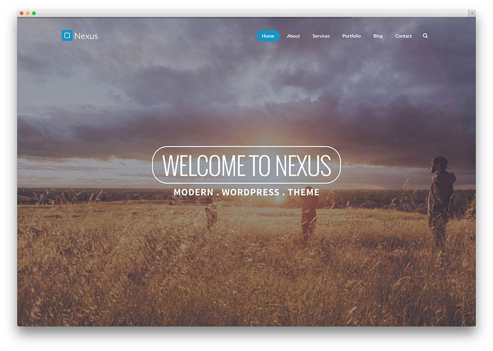 nexus-creative-wordpress-theme