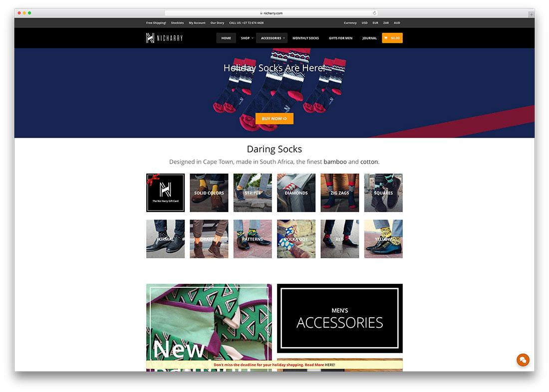 nicharry-accessories-online-store-example