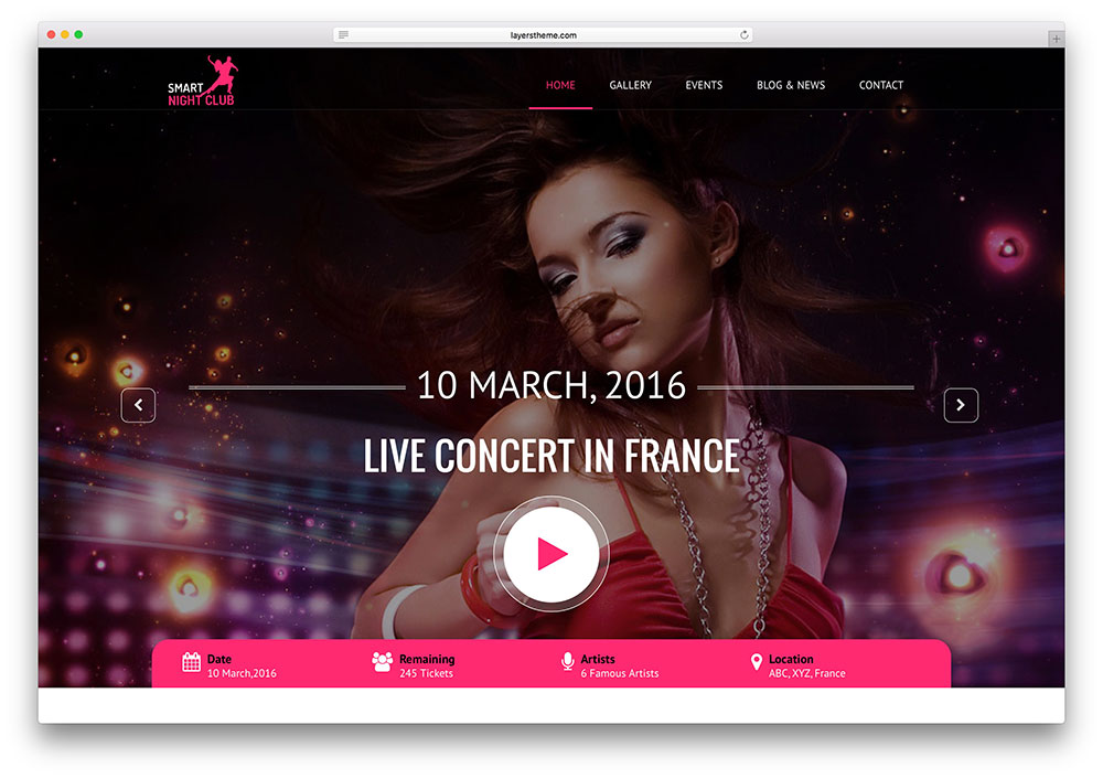 night-club-minimal-music-html-site-template