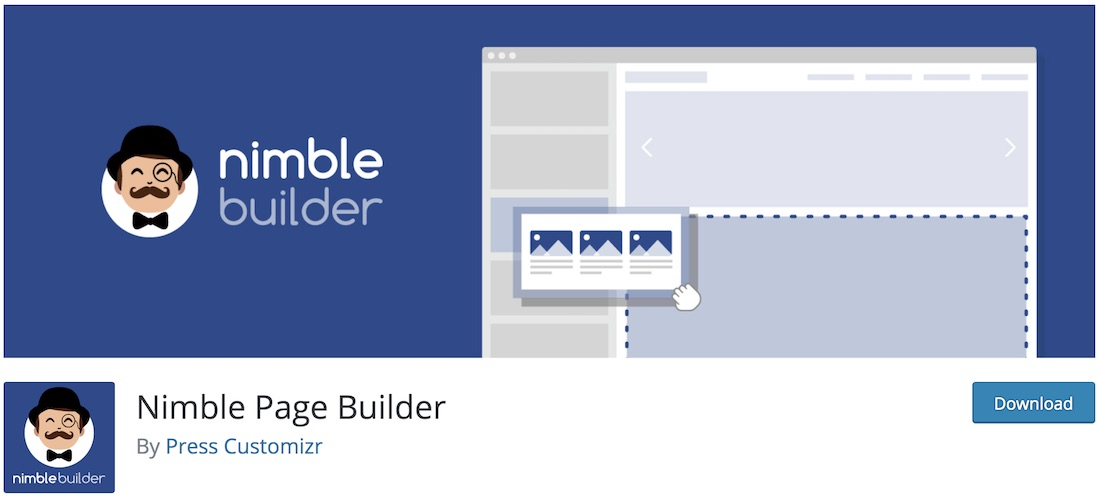 nimble builder wordpress plugin