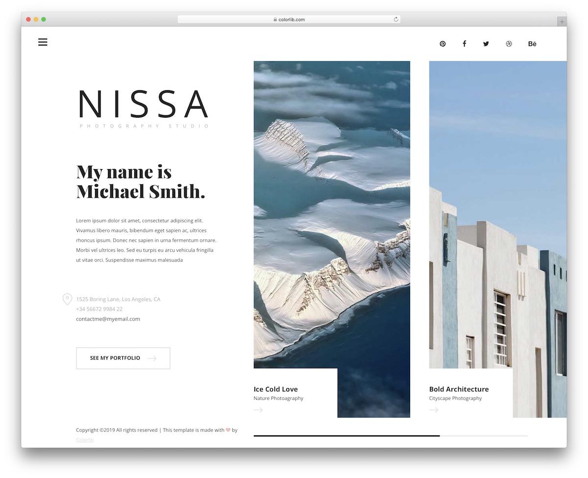 nissa free template