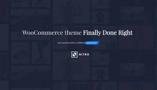 Nitro Ecommerce Theme