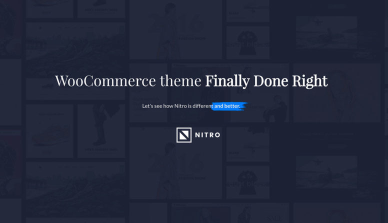 Nitro WordPress Theme Review: A Multi-Purpose ECommerce Theme